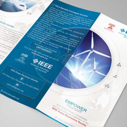 "New brochure for ""IEEE Power Electronics Society"""