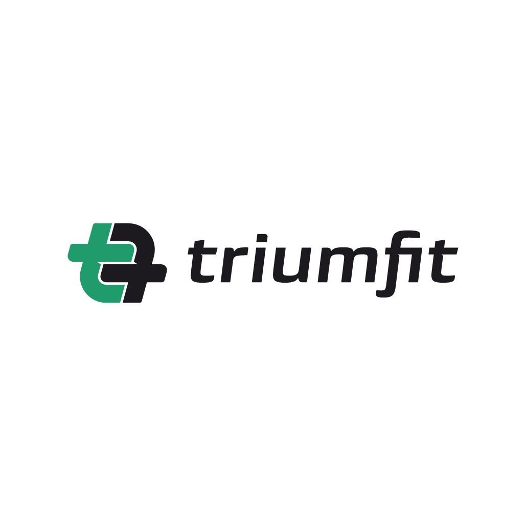 Create a clever, modern logo for Triumfit