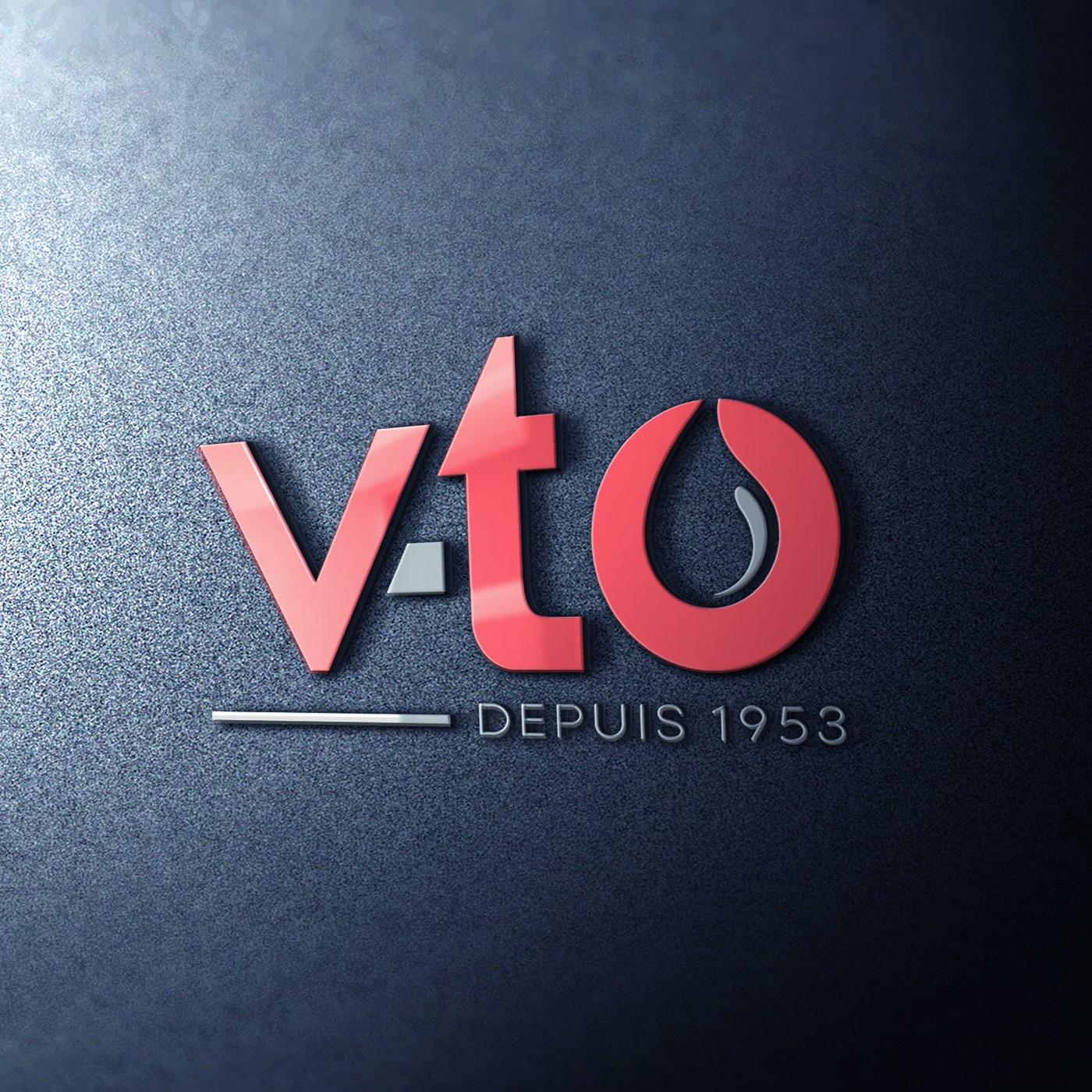 V-TO would like to modernize is logo