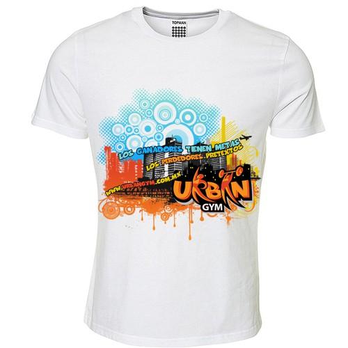 T-Shirt Design for Urban Gym