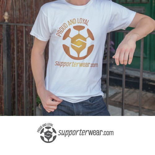 "Logo design for ""Supporterwear.com"""