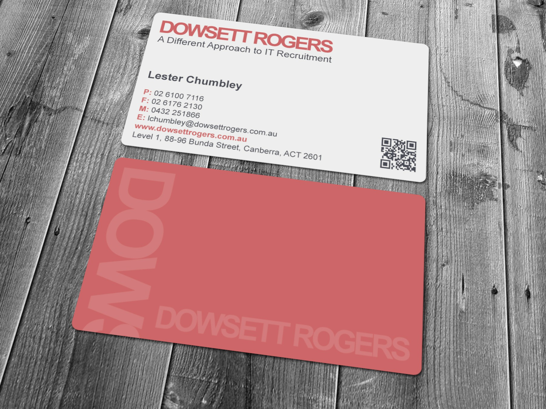 Help Dowsett Rogers with a new stationery