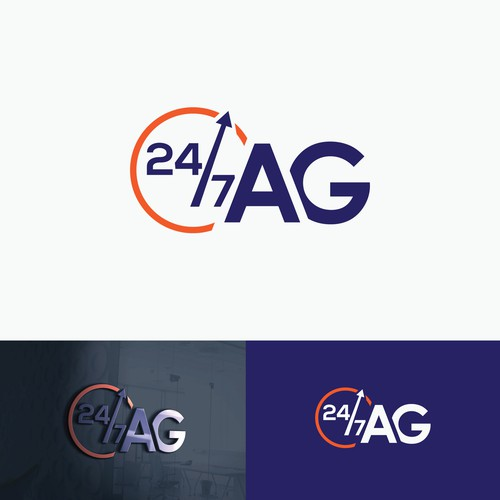 Logo Design for real estate and insurance broker