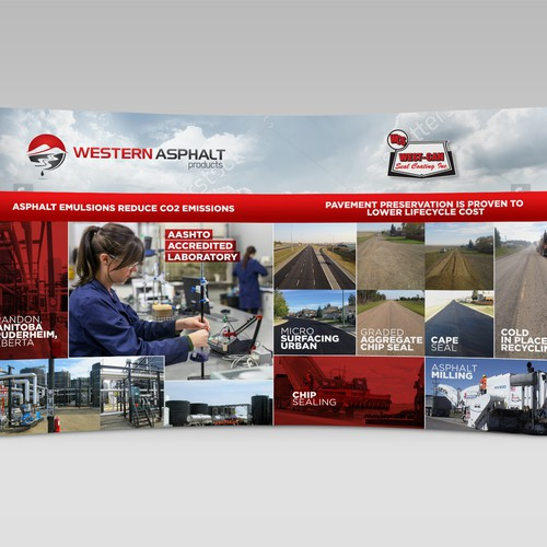 Western Asphalt Trade Show Backdrop