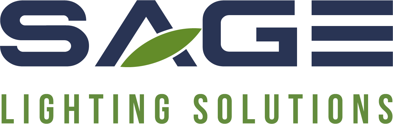 SAGE and Sustainably Minded LED Horticulture Firm LOGO and BRAND