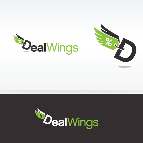 Logo design for DealWings
