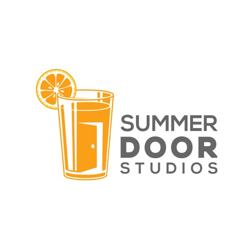 Create a logo for a mobile game company, Summer Door Studios