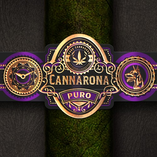 High-end Prestigious Cannagar Band/Label