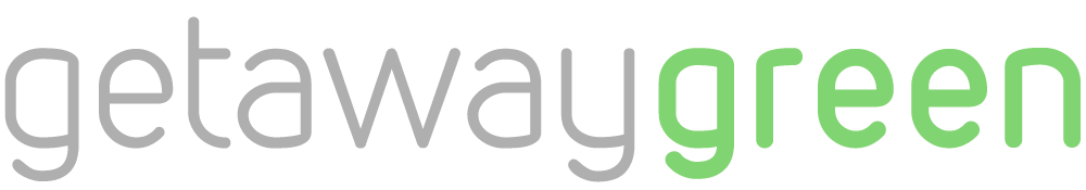 Create a clean, modern logo for GetawayGreen!