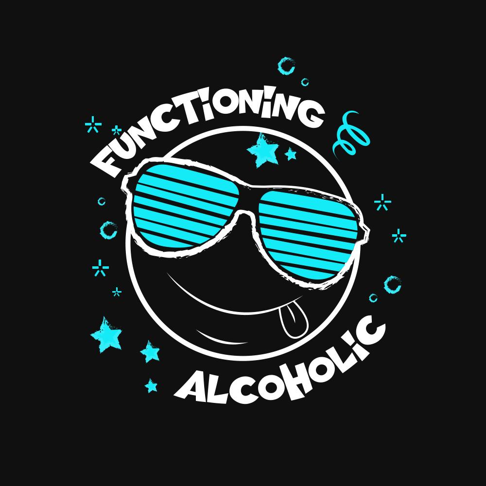 New Drunk Smiley Face Logo