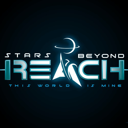 """Logo design for """"Stars Beyond Reach"""" upcoming Steam strategy game."""