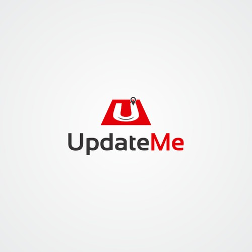 Create a professional, modern, new generation looking logo for UpdateMe