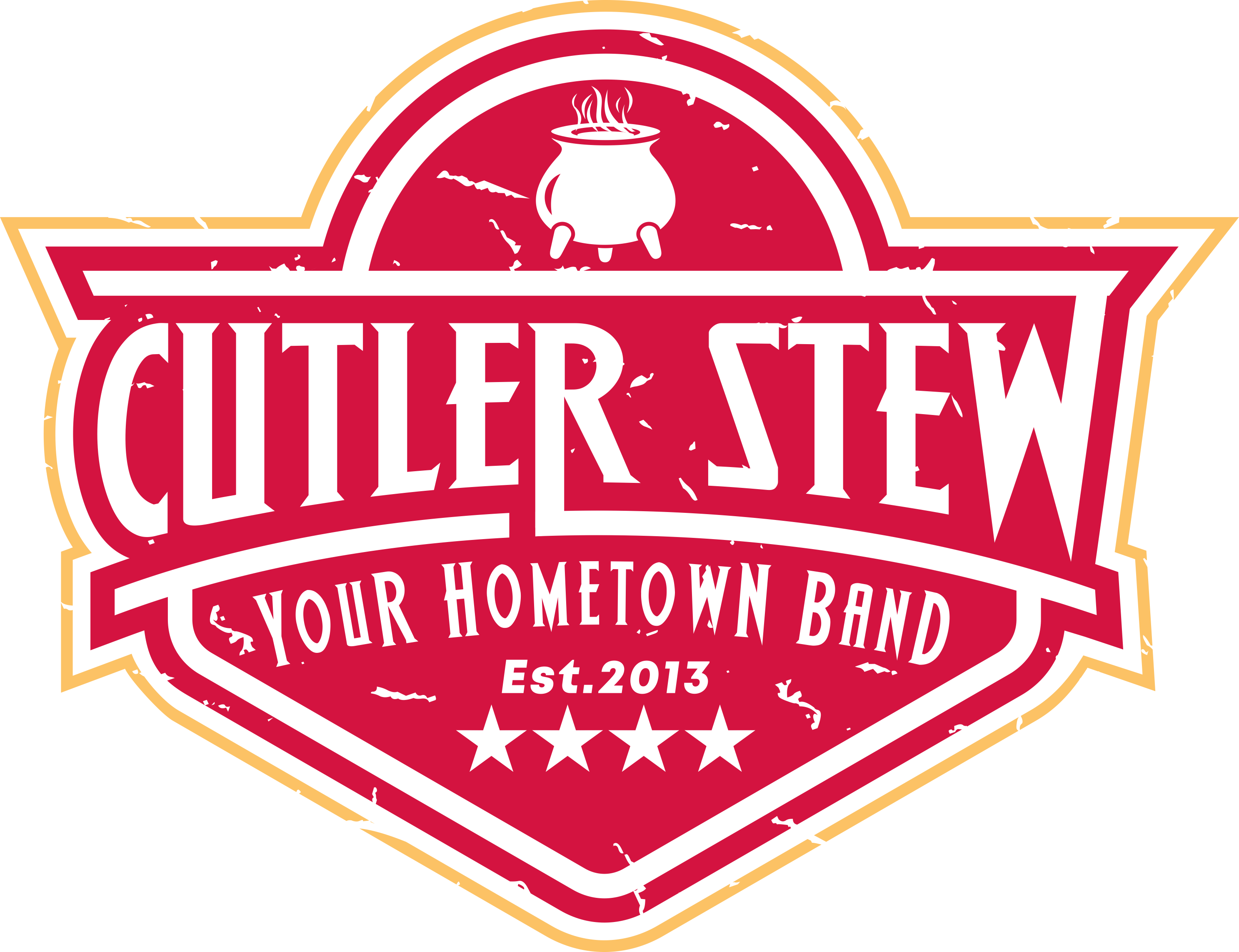 Logo for local rock/country band