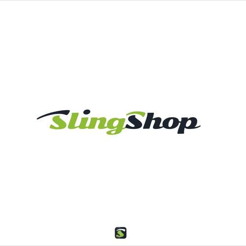 [ Available For Purchase ] -- declined logo proposal for SlingShop