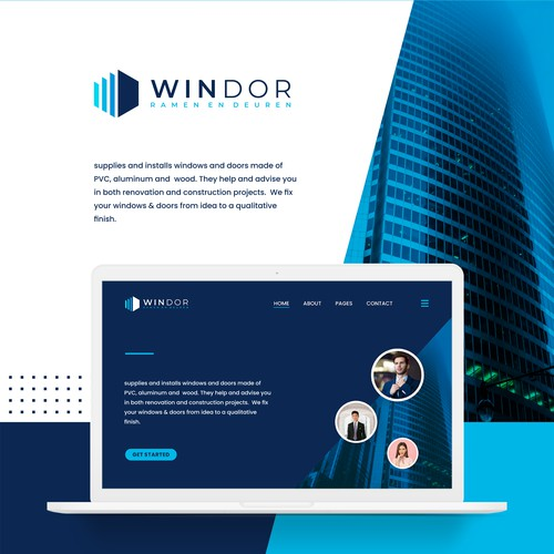 WINDOR window and door logo.