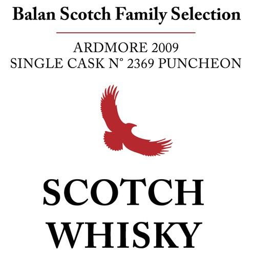 Scotch Whisky Bottle Label