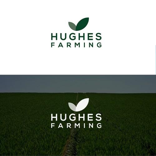 Logo concept for a farming company