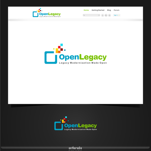A new logo for OpenLegacy  (a Java open source project)