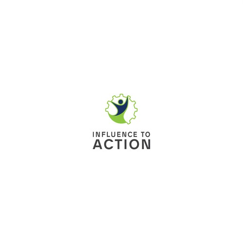 logo concept for Influence To ACTION