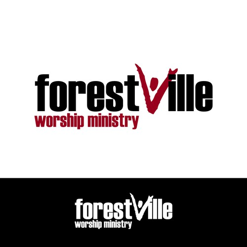 Create a fresh, modern logo for our Music and Worship Ministry!
