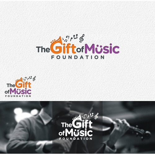 Help launch The Gift of Music Foundation with a WINNING Logo!
