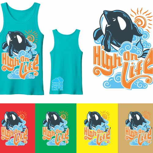 New T-Shirt Design for High On Life Clothing