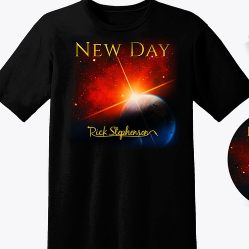 Inspiring Attention Grabbing New Day CD Cover & Related Elements