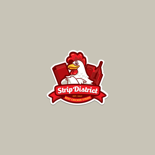 Fast food logo concept for a truck food activity