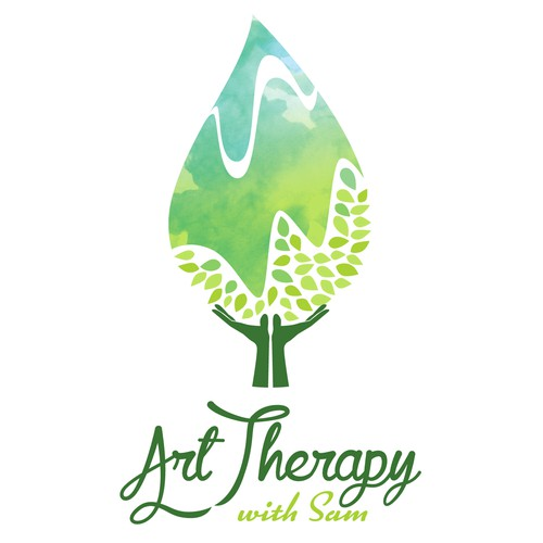 creative logo design for art therapy