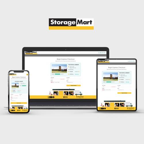 StorageMart Upsell PopUp Page