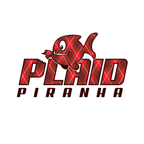PLAID PIRANHA logo
