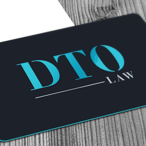 Elegant logo for a law office