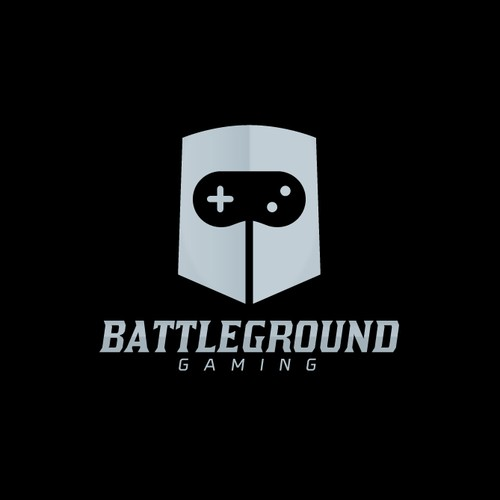 Battleground gaming logo design
