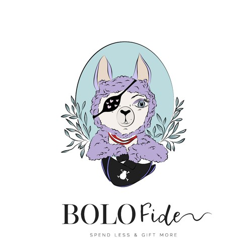 Handdrawn animal logo for BOLOFide