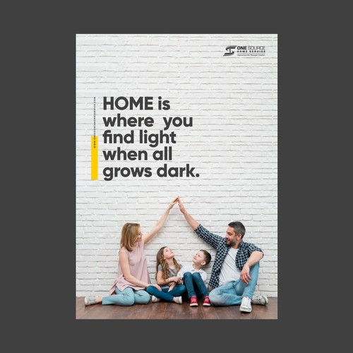 Home business inspirational poster