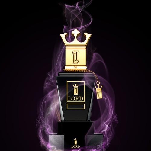 perfume poster design