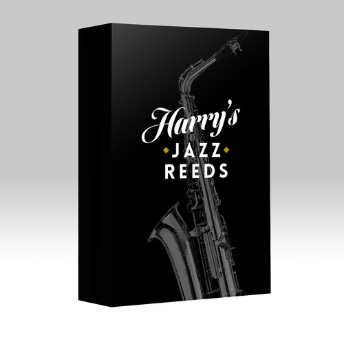 Create the next product label for Harry's Jazz Reeds
