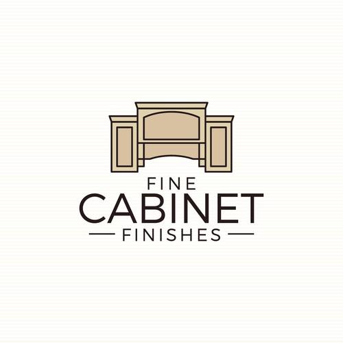 logo concept for Fine Cabinet