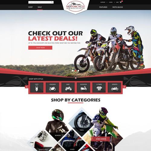 Web Design Motorcycle wholesale