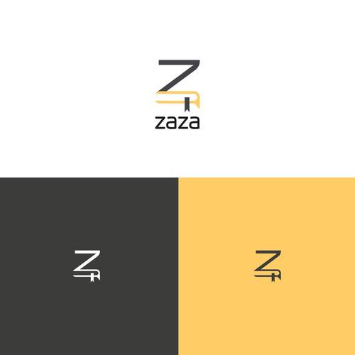 ZaZa logo for online languge school.