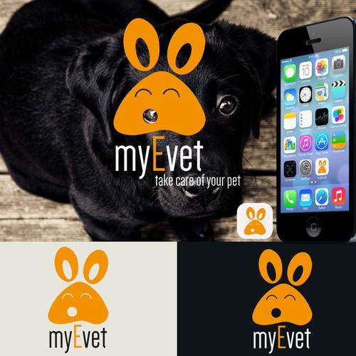 Logo for veterinary app