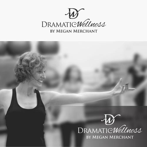 Dramatic Wellness Logo design