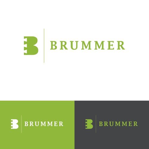 Logo Design Schreinerei Brummer