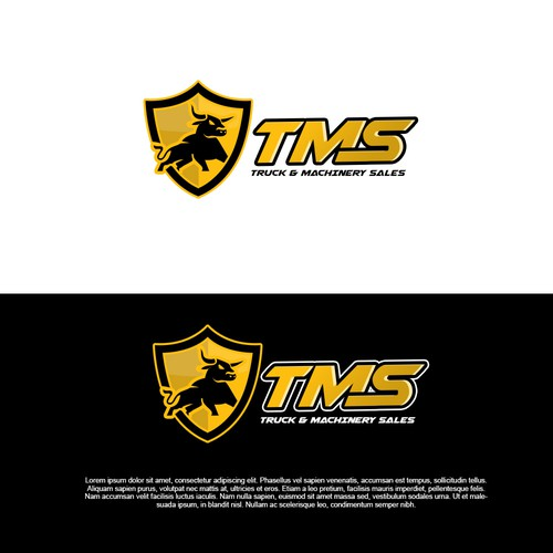 Logo Concept for Truck & Machinery Sales (TMS)