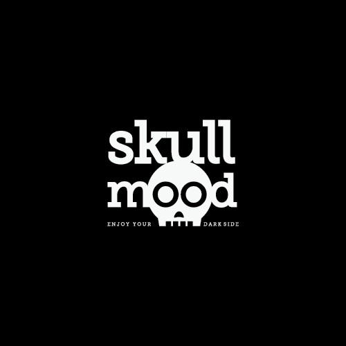 skull mood logo