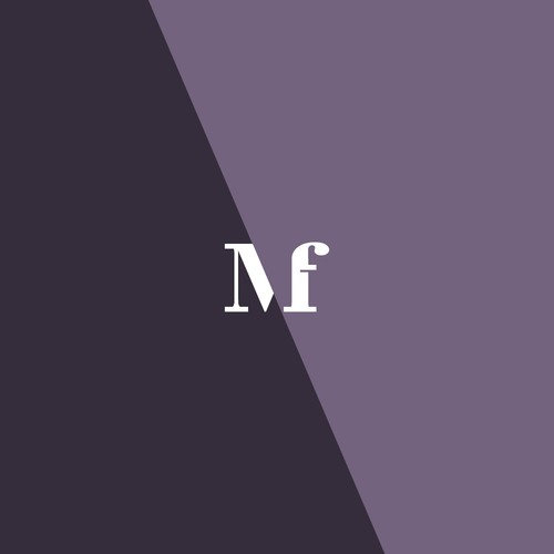 M and F letter design.