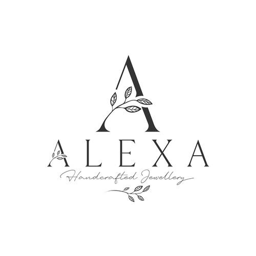 LOGO FOR ALEXA HANDCRAFT JEWELLERY