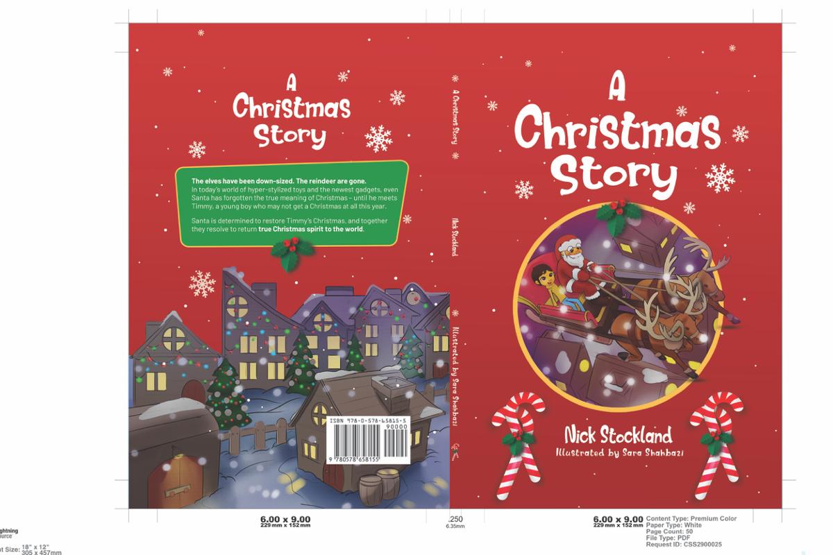 A Christmas Story - resizing for Ingram Spark