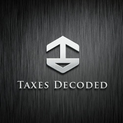 accounting logo taxes decoded