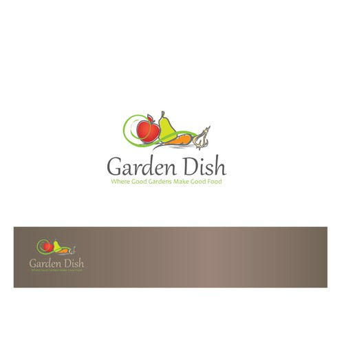 Garden dish